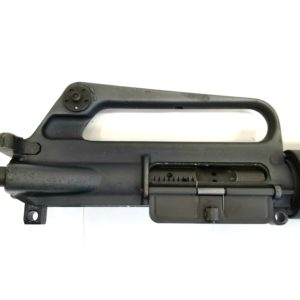 M16A1 STYLE UPPER IN BLACK WITH 1:9 TWIST CHROME LINED BARREL